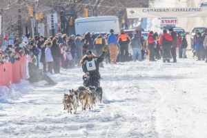 CANADIAN CHALLENGE INTERNATIONAL SLED DOG RACE 2014